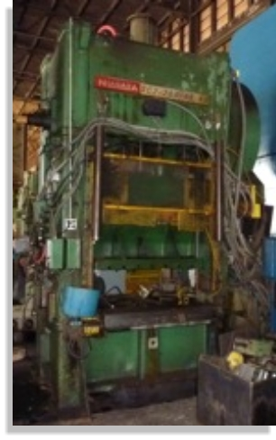 Affordable Machinery 200 Ton Niagara Press Metal
