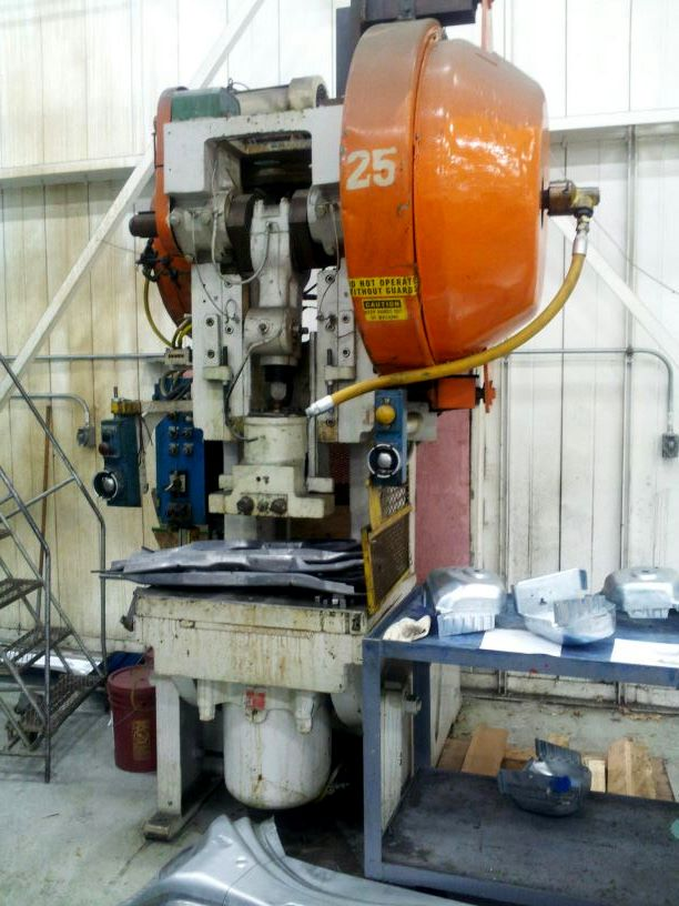 Affordable Machinery 60 Ton Bliss Press C60 Obi