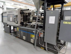 300 Ton Cincinnati Injection Molding Machine 5