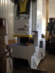 Aida 200 Ton Gap Frame 2