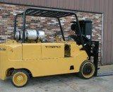 20,000lbs. Cat T200 Forklift 5