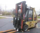 30,000lbs. Taylor Hard-Tired Forklift 1
