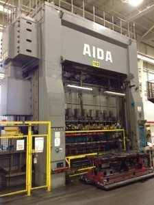 800 Ton Aida Press For Sale
