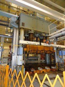 2000 Ton Williams and White Hydraulic Press 2