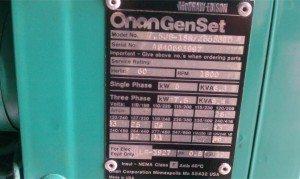 Onan generator pic 1
