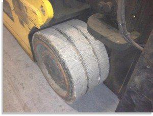 Taylor 30000lb forklift fork truck pic 5