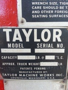 taylor forklift 22000lb for sale 8