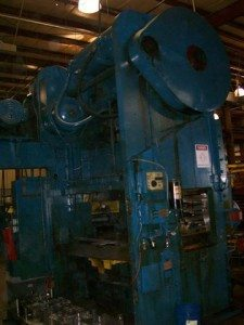 250 Ton D&K Press For Sale