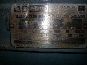 125 HP Delco Electric Motor 2