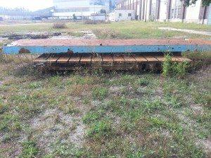 Steel Bolster Plate - 256 x 54 x 8 (1)