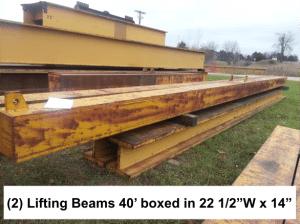 40 foot lifing beams