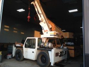 8 1/2 Ton Carry Deck P&H/Terex Crane