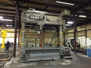 Dake Hydraulic Straightening Press