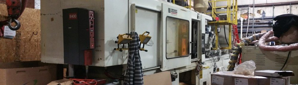 cininnati plastic injection molding machine 500 Ton