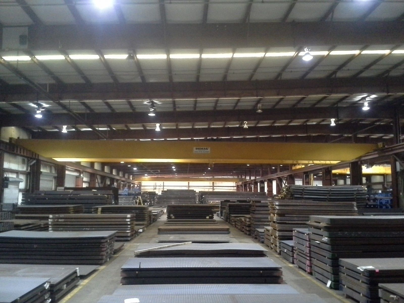 10 Ton Demag Overhead Bridge Crane For Sale Call 616 200