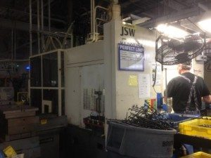 150 Ton JSW Plastic Injection Molding Machine For Sale 2