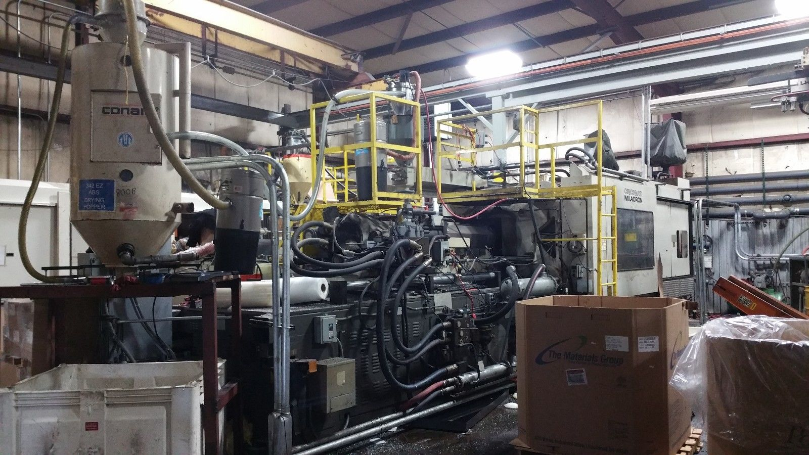 1000 ton injection molding machine for sale