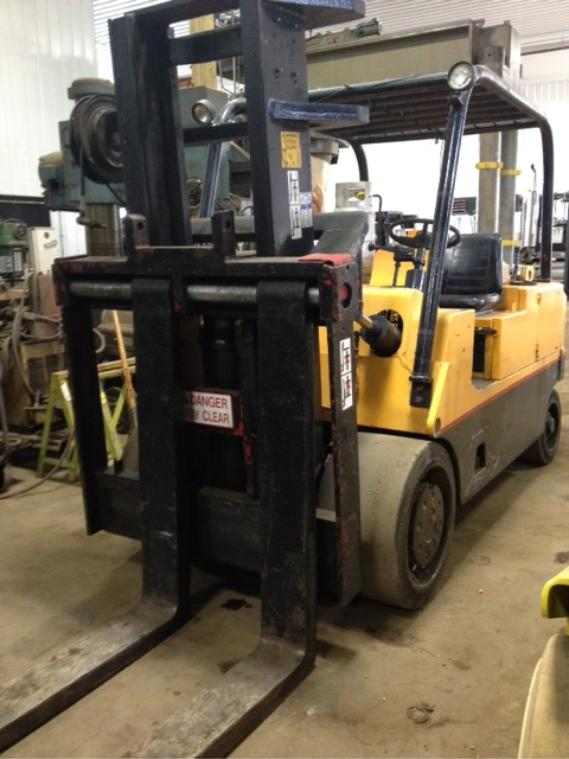 Cat Lift Boom : Lb cat forklift with boom for sale call