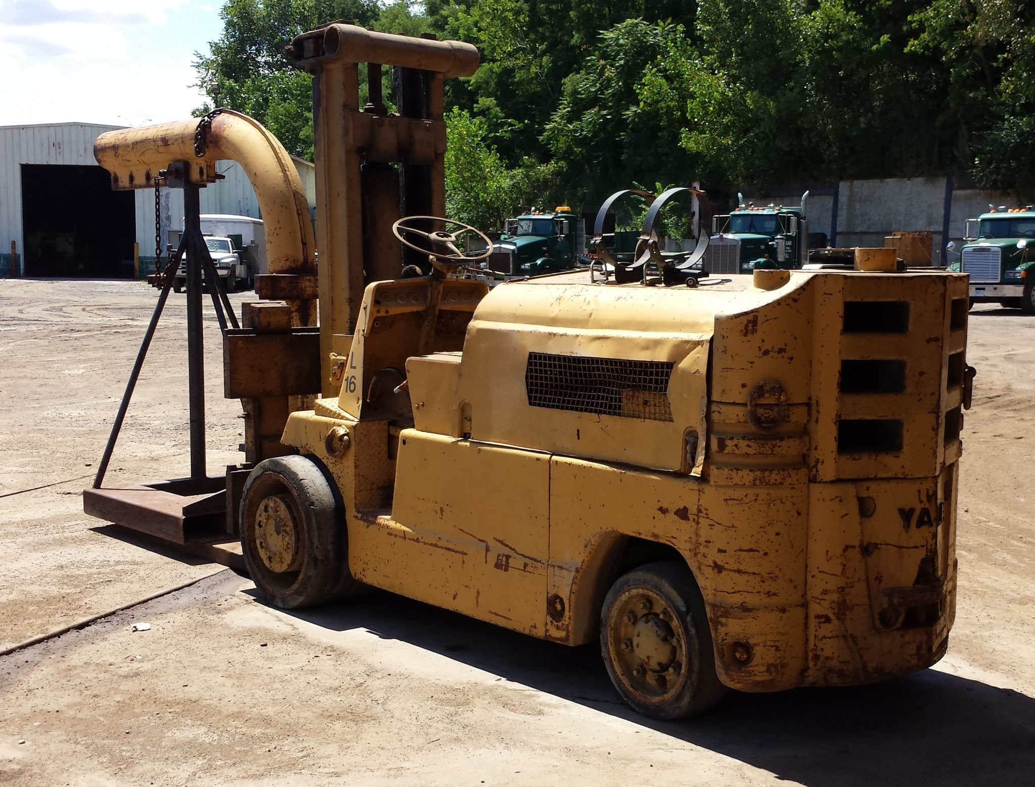 28 000lb ugly towmotor forklift for sale call 616 200 4308 for Forklift motor for sale