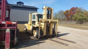 20,000lb. Capacity Clark Forklift For Sale