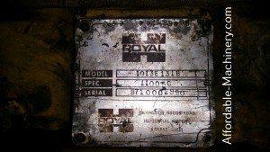 30,000lb Used Royal Hard Tire Forklift For Sale