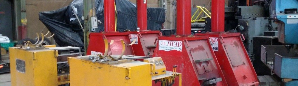 Used Lift Systems 44A Hydraulic Gantry System For Sale