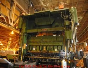 1,000 Ton Capacity Verson Straight Side Press For Sale (2)
