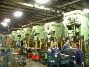 165 Ton Aida Single Point Gap Frame Press 1