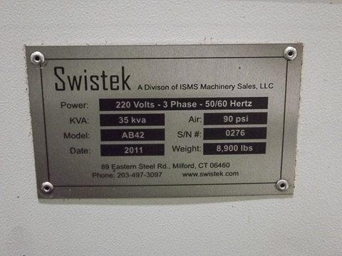 Swisstek AB42 7 Axis CNC Lathe Screw Machine For Sale