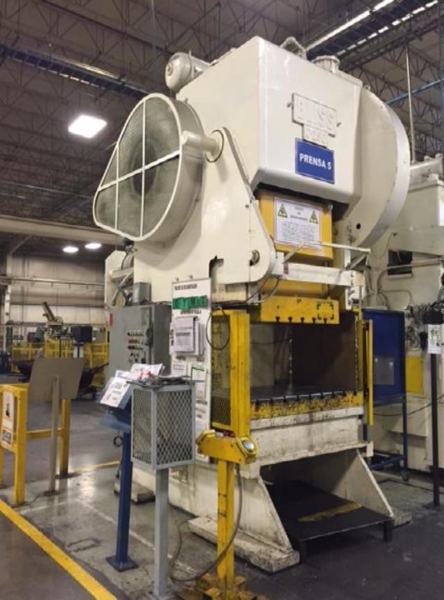 250 Ton Bliss C 250 Obi Stamping Press For Sale Call 616