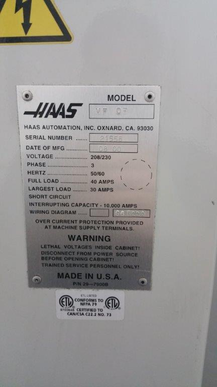 supercharger4me 2 25 affordable machinery used haas vf 0e cnc mill for