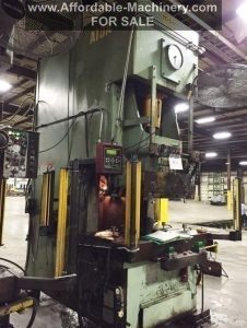 220 Ton Capacity Aida Single Point Gap Press For Sale (1)