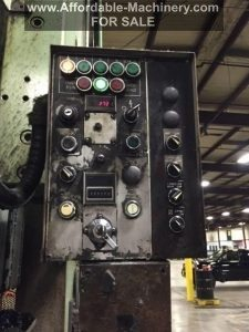 220 Ton Capacity Aida Single Point Gap Press For Sale (4)