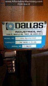 30,000lb. Dallas Coil Reel and Coil Car For Sale (5)