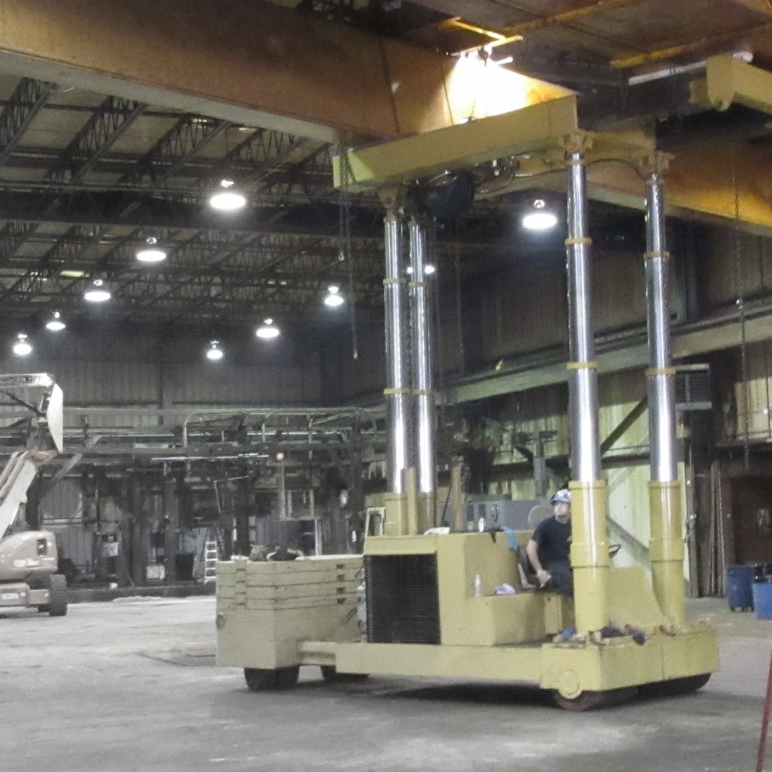 Homes For Rent Search Engine: 50 Ton Capacity Riggers Manufacturing Tri-Lifter For Sale