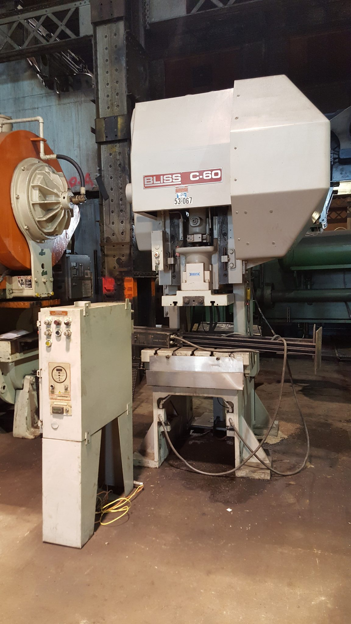 60 Ton Capacity Bliss C 60 Press For Sale Call 616 200 4308