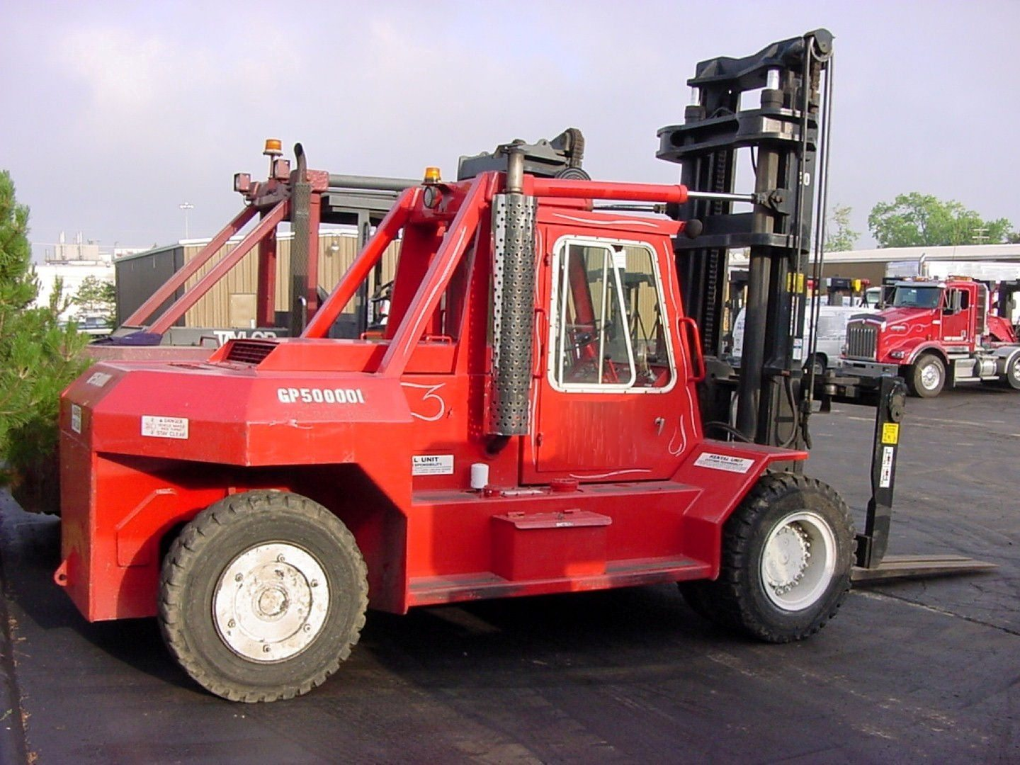 50 000lb Capacity Bristol Forklift For Sale Call 616