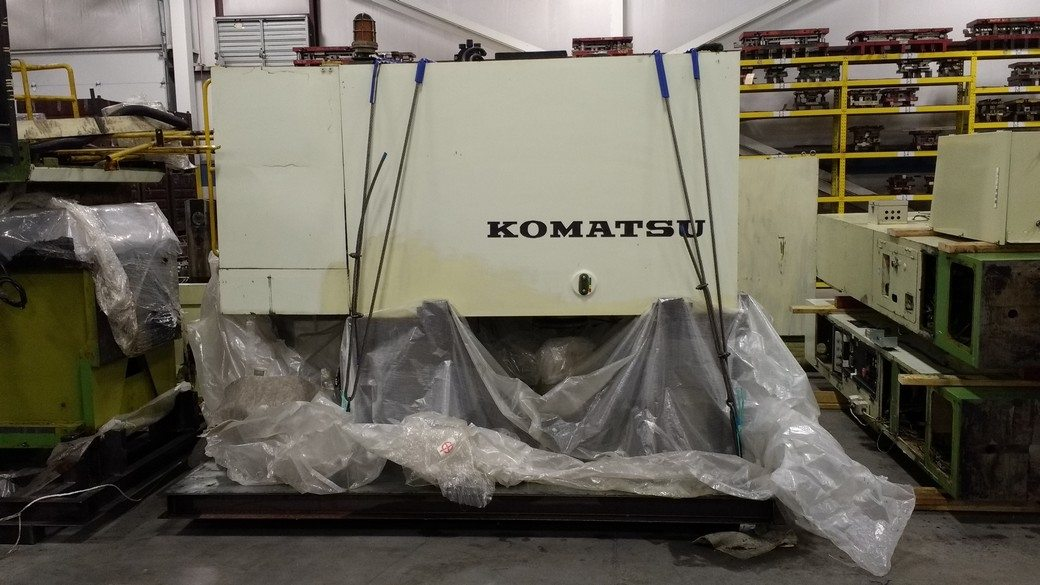 300 Ton Capacity Komatsu Straight Side Press For Sale