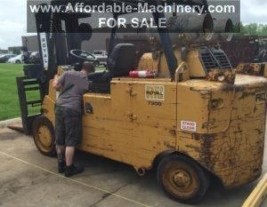 Used Royal T300 30000lb Forklift For Sale
