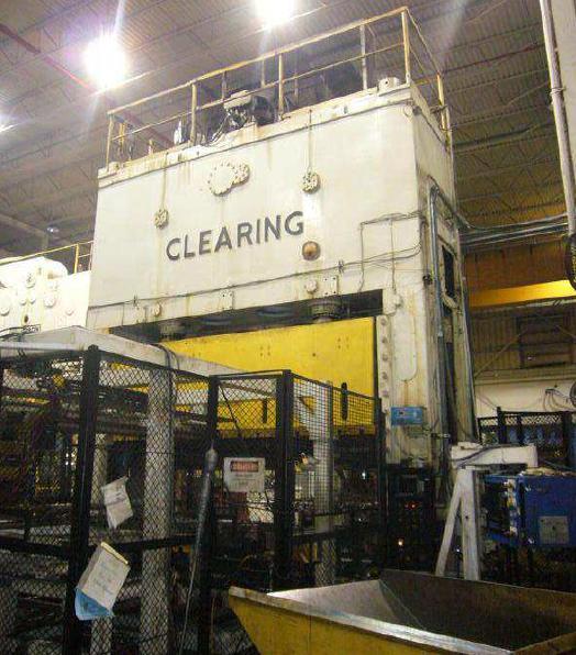 500 Ton Clearing Straight Side Eccentric Gear Press