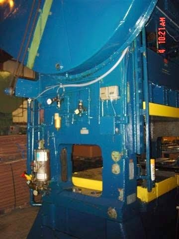 200 Ton Bliss Press - Straight Side Metal Stamping Punch Press For Sale
