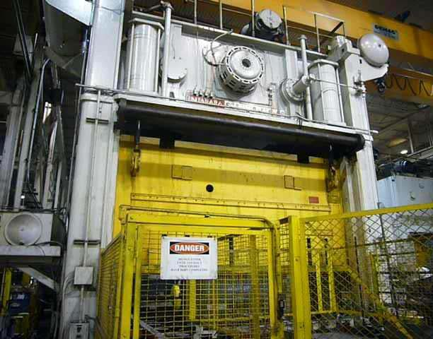 800 Ton Niagara Straight Side Eccentric Gear Press