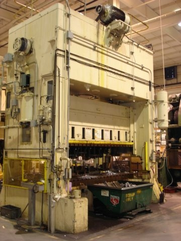 300 Ton Verson Press - Straight Side Press For Sale