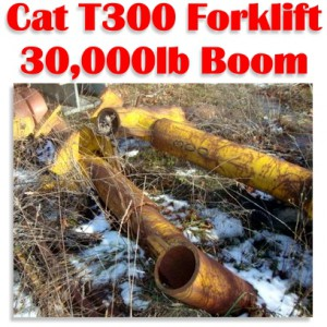 30,000lbs. Cat T-300 Forklift Boom For Sale