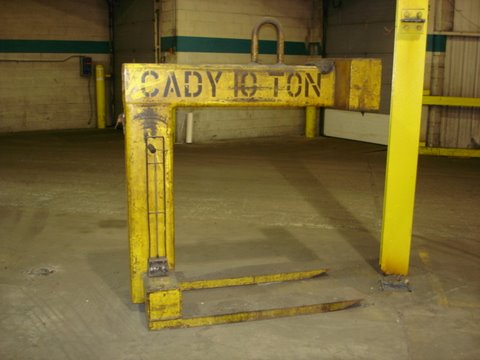 10 Ton Fixed Forks