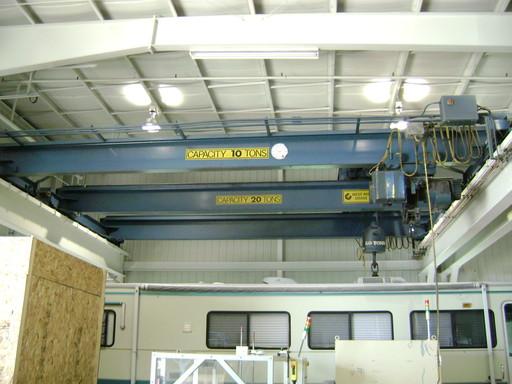 20 Ton West Michigan Overhead Crane For Sale