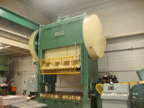 400 Ton Minster For Sale