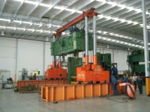 1000 Ton Riggers Manufacturing Gantry For Sale