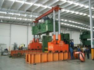 1000 Ton Riggers Manufacturing Gantry