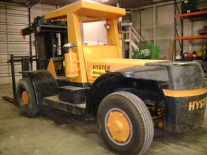 30,000lbs. Hyster H-300 Air-Tired Forklift For Sale